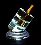 Champagne bottle holder centerpiece.jpg